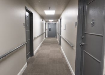 Congress Park Hallway