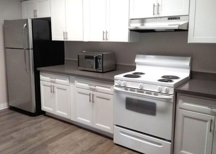Maryel Manor_Community Room Kitchen