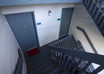 Park Terrace Outdoor Stairwell
