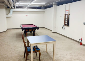 Plaza II Billiards Room