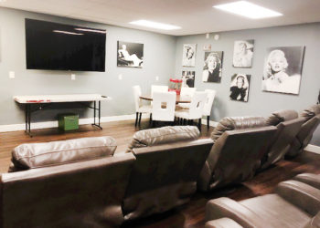 St. Francis Manor Movie Room
