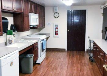 Three Link Tower Community Room Kitchen