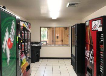 Three Link Tower Vending Machines
